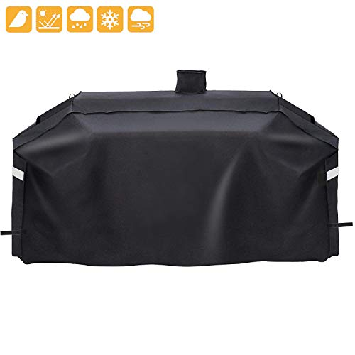 Grisun SH7000 Grill Cover for Pit Boss Memphis Ultimate Grill and Smoke Hollow PS9900 DG1100S GC7000 4in1 Combo Grill, Heavy Duty and Waterproof Pellet Gas/Charcoal Grill Cover (78 x 23 x 48 Inches) Covers Grill