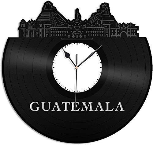 TIANZly El Horizonte de Reloj de Pared de Vinilo de VinylGuatemala renueva Habitaciones exclusivas para Amigos de hogar y Oficina