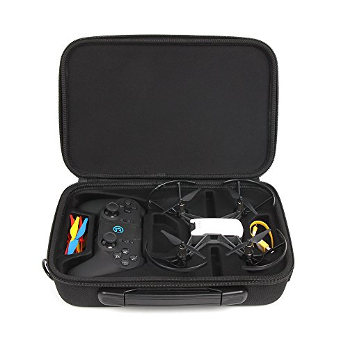 Anbee Tello Carrying Case Portable Shoulder Bag Compatible with DJI Tello / Tello EDU Drone and Gamesir T1D Gamepad Remote Controller