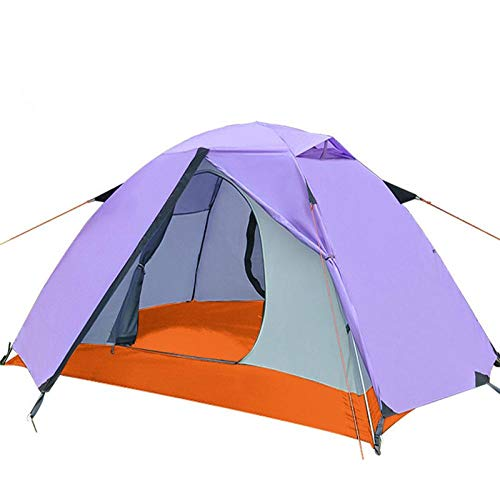 XTBB 2Person Wild Camping Outdoor Double Tent 4-Person Mountaineering Beach Equipment Four Seasons Rainstorm Tent 2