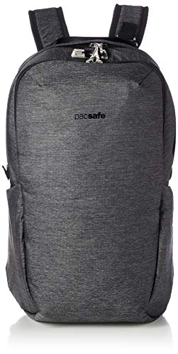 PacSafe Vibe 25l Anti-Theft Backpack, Granite Melange Grey, One Size