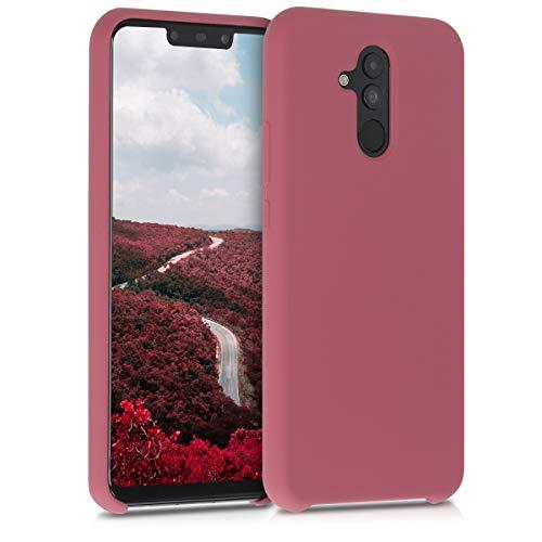 kwmobile Hülle kompatibel mit Huawei Mate 20 Lite - Handyhülle gummiert - Handy Hülle in Deep Rusty Rose