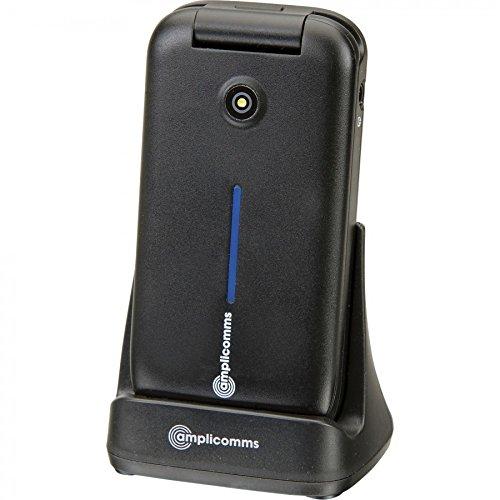 Amplicom PowerTel M6900 Großtastenhandy schwarz
