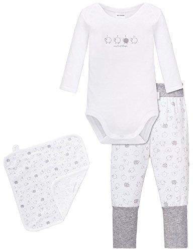 Schiesser Baby-Jungen unisex Unterwäsche-Set, Mehrfarbig (sortiert 1 901), 68 (Herstellergröße: 068) (3er Pack)