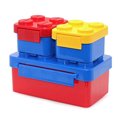 Oxford Lunch Box Loncheras de ladrillo Bento para niños Niños pequeños para viajes y picnic