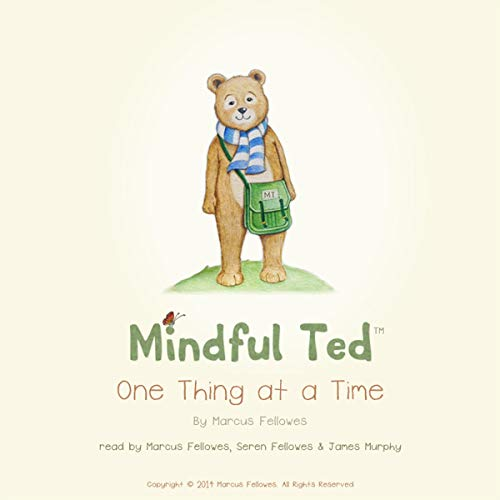 Mindful Ted, One Thing at a Time audiobook cover art