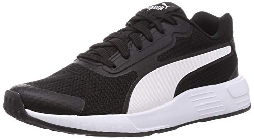 PUMA Kinder-Sneaker Taper JR, Puma Schwarz Puma Weiß - Größe: 38 EU