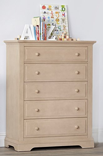 Read About Centennial Chatham 5 Drawer Chest Driftwood