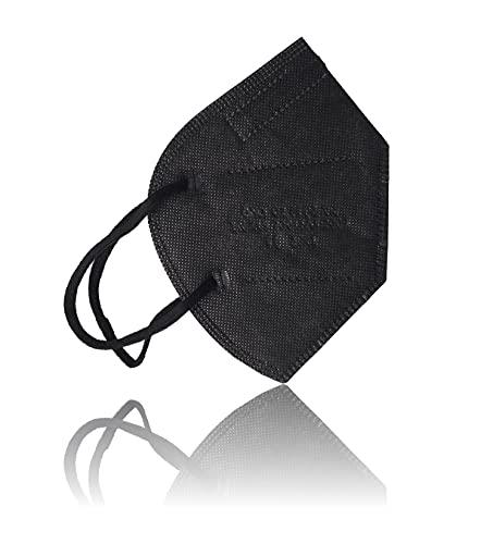 AKA 10x FFP2 Atemschutzmasken EN149:2001A1:2009 & CE2841 zertifiziert - schwarz