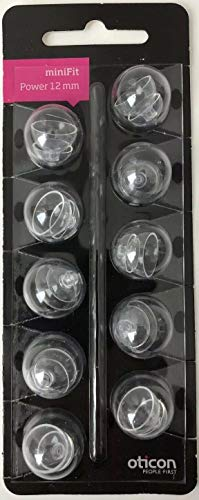 OTICON Power 12 mm Minifit Dome (1 РАСК-10 Domes.)