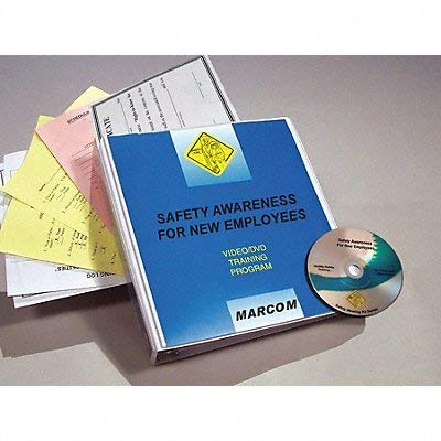 Cheap Marcom Group V0002509EM Safety Awareness DVD T New Employees for Max 72% OFF