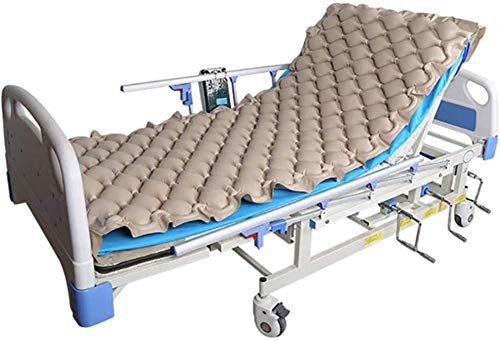 HYISHION Replacement Alternating Pressure Pad - Inflatable Low Air Loss Mattress Topper for Pressure Ulcer and Sore Relief Treatment - Fits Standard Hospital Bed - Bedridden Patients