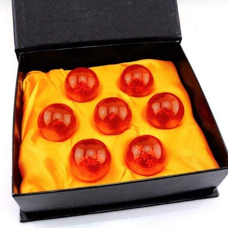 Anime Universe Collectible Dragon Balls Medium Crystal Glass Dragon Ball Z 7pcs Stars Balls product image
