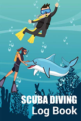 Scuba Diving Log Book: Awesome Cute Simple Clear & Easy Pocket Size Spearfishing Lover Scuba Divers Diving Track & Record Logbook for Beginner, ... Divers. Perfect Gifts For Birthday Christmas.