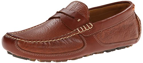 Trask Men's Derek Slip-On Loafer, Saddle Tan, 13 M US