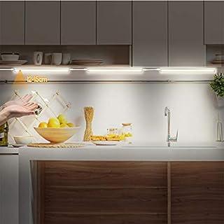 Luz LED con sensor de movimiento, barra de luz para armario, con tira magnética para muchas habitaciones (#2)
