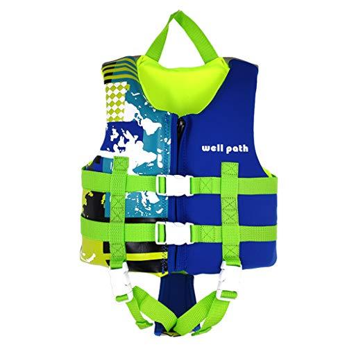 Gogokids Kinder Schwimmweste Folat Jacke, Kleinkind Schwimmtraining Bouyancy Badeanzug Assist Badebekleidung für 17-77 lbs 1-3 Jahre Baby Kids