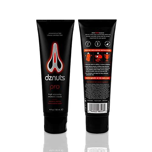 DZNuts Pro Chamois Cream, 4 ounce,120ml