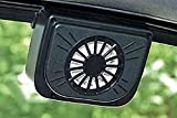 SHREEJIIH Auto Cool- Solar Powered Ventilation Fan Keeps Your Parked Car Cool (Color May Vary)