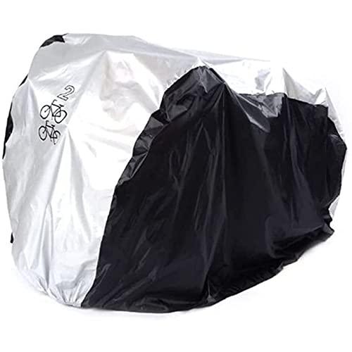 Funda para Bicicleta Exterior Cubierta de lluvia de bicicleta cubierta de bicicleta impermeable Todo el tiempo resistente al polvo UV Protección ideal para bicicleta de montaña, bicicleta de carreter