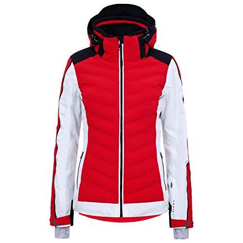 LUHTA Jalkavala Damen Skijacke rot weiß schwarz (40)