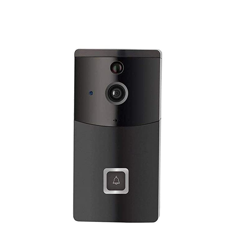 Kylinmml Smart Video Doorbell, HD WiFi Security Camera, Real-time HD Monitoring, Waterproof, Two-Way Communication and Remote App ktvsdhbl704980