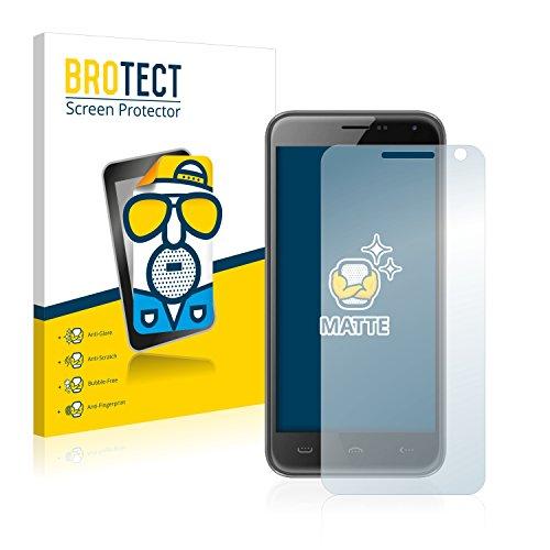 BROTECT 2X Entspiegelungs-Schutzfolie kompatibel mit Doogee Homtom HT3 Pro Bildschirmschutz-Folie Matt, Anti-Reflex, Anti-Fingerprint
