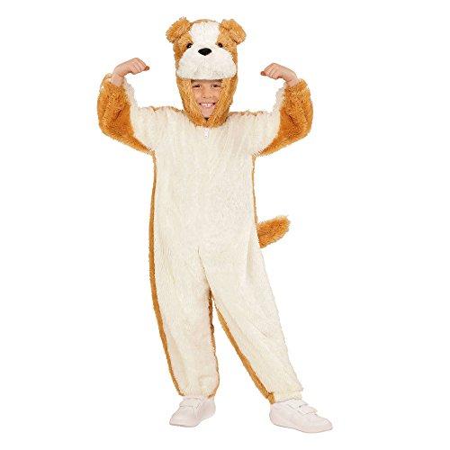 WIDMANN 98081?Disfraz para niños Perro de Peluche, Mono con Capucha y máscara