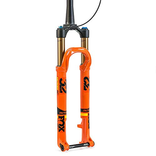 Fox Racing Shox 34 Float SC 29 FIT4 Afstandsbediening Factory Boost Vork Glanzend Oranje, 120mm, 44mm Offset, Kabolt