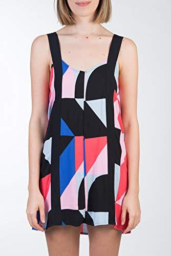 Hurley W Jenna Dress Vestido, Mujer, Red Orbit, M