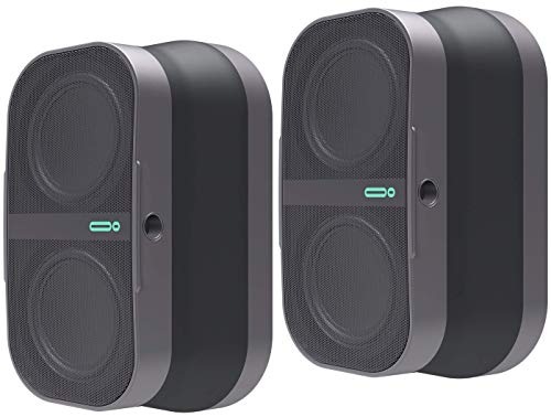 POW MO Collapsible Magnetic Bluetooth Speaker (2-Pack) - 6+ Hour Playtime, 10W & 100ft...