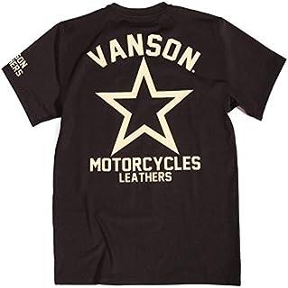 (バンソン) VANSON ドライ 半袖Tシャツ ワンスター 吸水速乾 抗菌防臭 UVカット ACV-904
