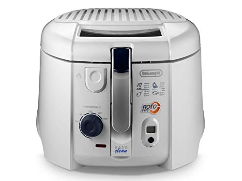De'Longhi F28533.W1 roto-Fry friteuse Olieblauw-functie + timer. wit