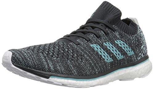 adidas Adizero Prime Parley Running Shoe, Carbon, Blue Spirit s, FTWR White, 5 M US