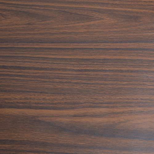 Art3d 17.7'x78.7' Peel and Stick Wallpaper - Decorative Self Adhesive Vinyl Film Wood Grain Wallpaper for Furniture Cabinet Countertop Shelf Paper, Walnut