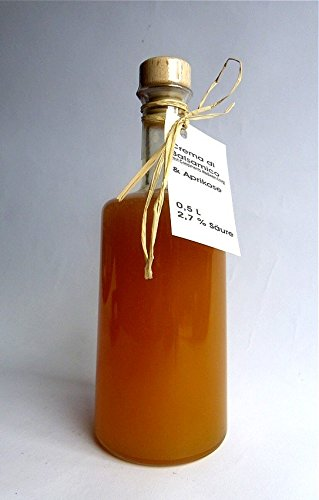 Crema di Balsamico APRIKOSE - dickflüssig, vollfruchtig-aromatisch, mild 0,5 L