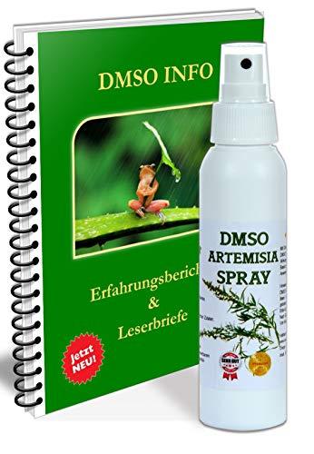 Leivys DMSO Spray Artemisia dosis alta + PDF libro de experiencias Efecto Aplicación Dosis 2x50ml