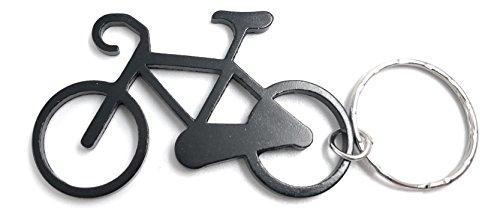 H-Customs Fahrrad aus Metall schwarz Anhänger Schlüsselanhänger