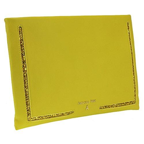 PATRIZIA PEPE , Damen Henkeltasche gelb Y293