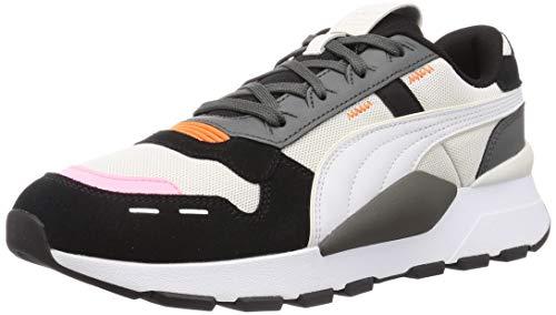 PUMA Unisex Rs 2.0 Winterized Sneaker, Schwarz-Dampfgrau, 41 EU