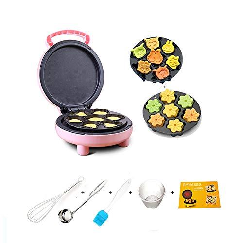 Gaufrier Gâteau enfants machines, Waffle, biscuits, pommes de terre rissolées Autre On The Go Petit déjeuner, déjeuner, ou des collations, 2 jeux de cuisson Plateaux gaufrier professionnel