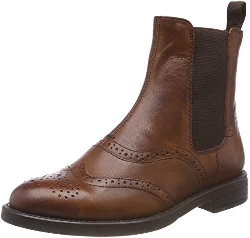 Vagabond Damen Amina Chelsea Boots, Braun (27 Cognac), 37