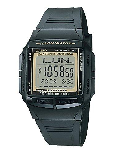 CASIO DATA BANK カシオ データバンク DB-36-9 DB36-9 テレメモ メンズウォッチ ユニセックスウォッチ 腕時...