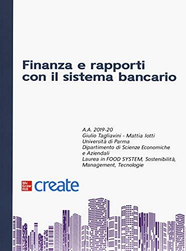 Finanza e rapporti con il sistema bancario