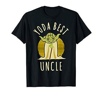 Star Wars Yoda Best Uncle Cartoon Yoda T-Shirt
