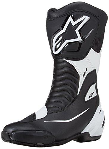 Alpinestars – Botas de Moto – Alpinestars SMX S Negro Blanco – 42
