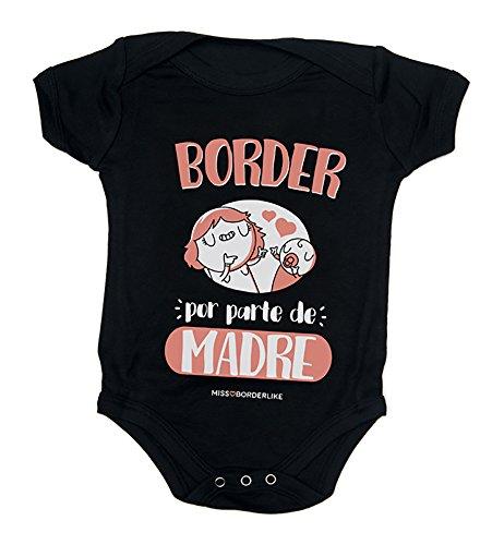 Missborderlike - Body Manga Corta 18 a 24 - Border por Parte de Madre