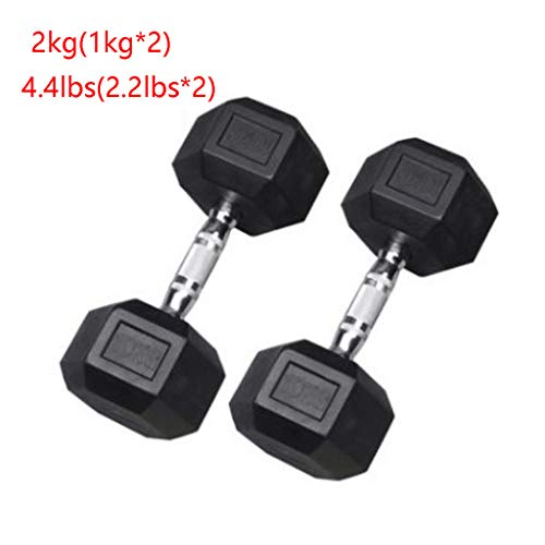 Indoor Dumbbell Barbell Set with Metal Handles Bodybuilding Exercise Equipment Water Dumbbells Barbell Home Interior Fitness Equipment Home Fitness (Color : Black, Size : 2.5 kg)
