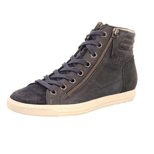 Paul Green High Top Sneaker   Schnürer - blau   Ocean, Farbe:blau;Größe:40