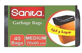 اكياس قمامة من سانيتا - 40 كيس